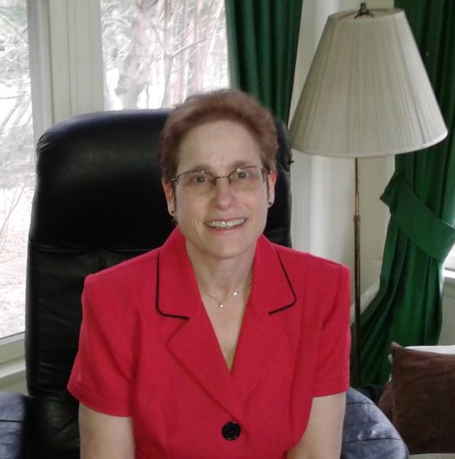 Carol red jacket